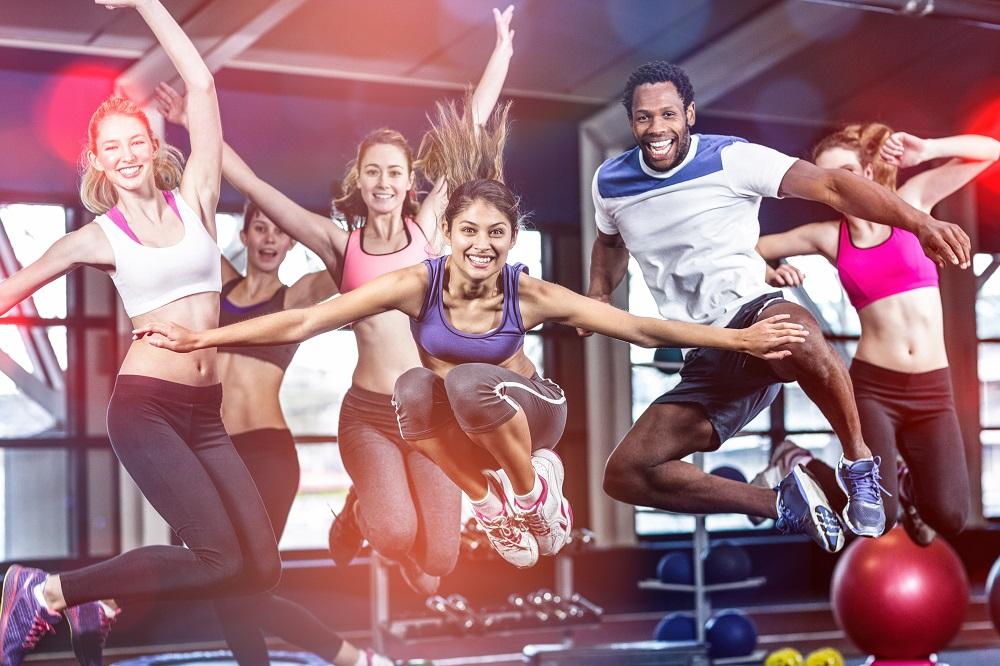 Du trainierst gerne in der Gruppe? …dann findest du hier ein umfangreiches Angebot an Gruppenfitness-Einheiten für alle Trainingsziele: von Yoga bis Intervall-Training, von Reha- bis Krafttraining findest auch für du die passende Einheit.